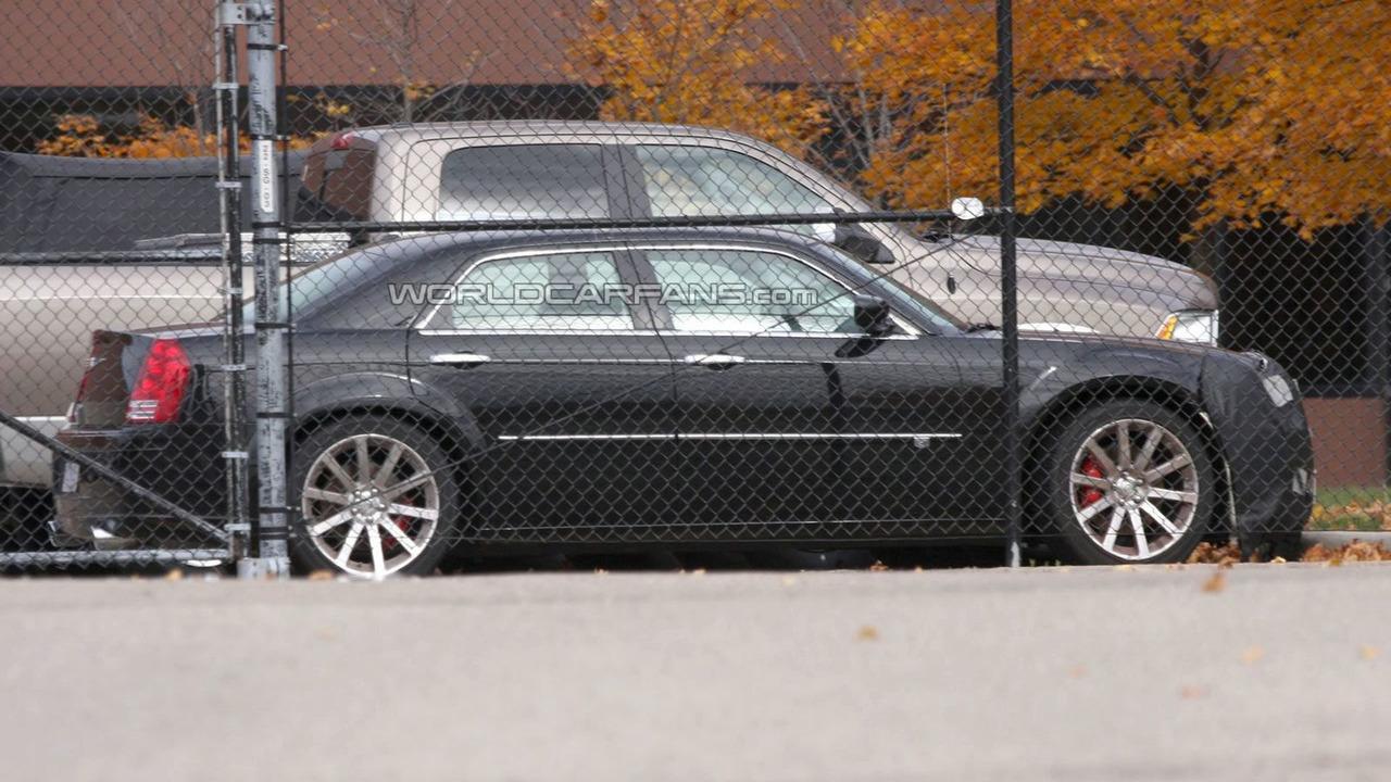 Next Generation Chrysler 300C Mule