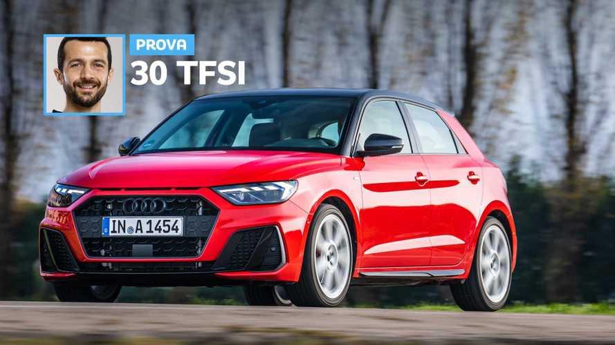 Nuova Audi A1 Sportback, crescita totale