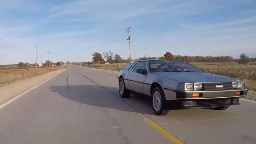 Bricklin Vs. DeLorean Drag Race
