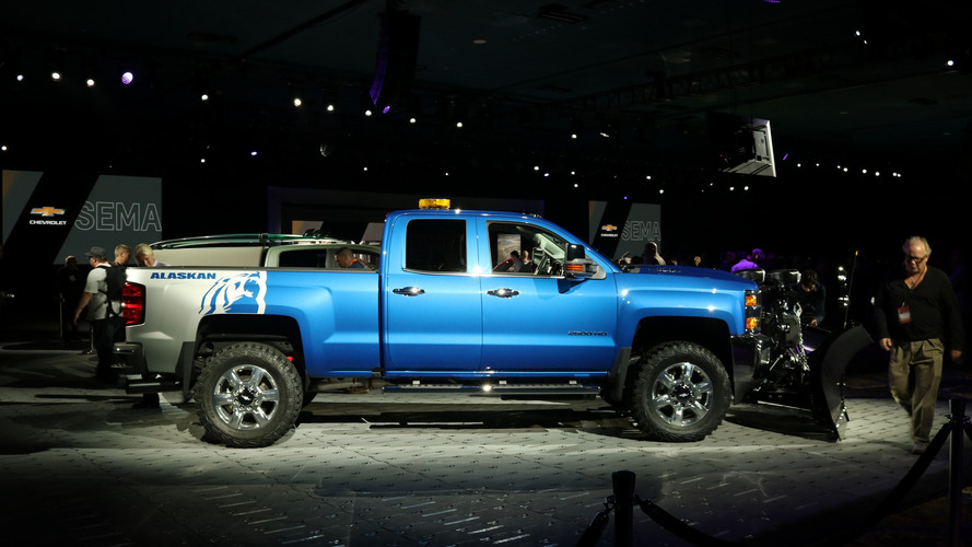 Chevy Silverado SEMA concepts are ready for winter and ...