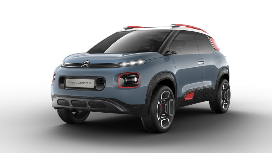Citroen gives quirky C3 a pair of stilts for C-Aircross concept