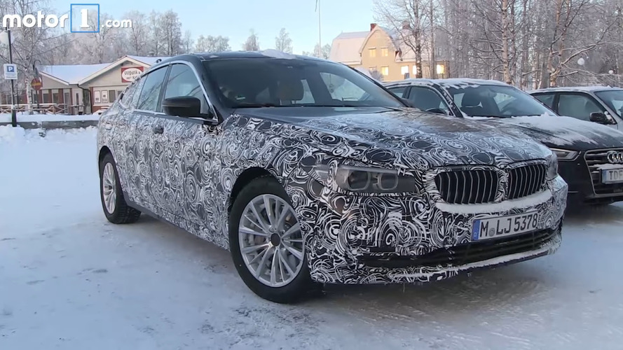 BMW 6 Series GT screenshots from spy video
