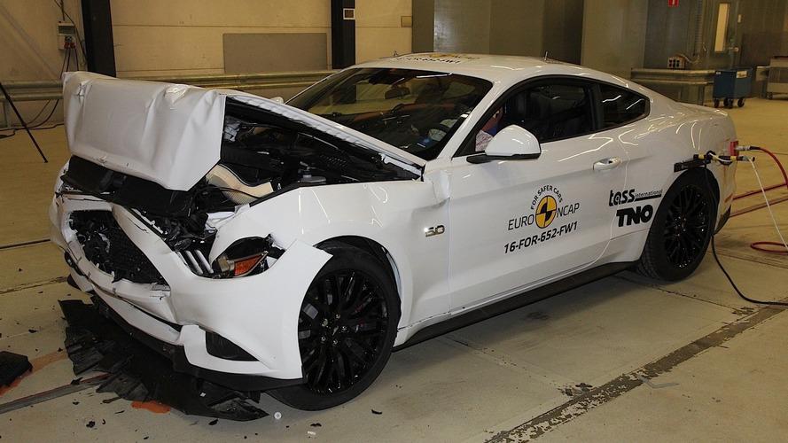 Ford Mustang decepciona e alcança apenas duas estrelas no Euro NCAP