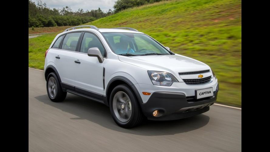"""Chevrolet Captiva 2016 ganha visual """"aventureiro"""" e chega por R$ 103.990"""