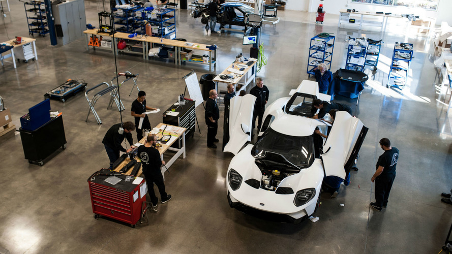 La production de la Ford GT est officiellement lancée !