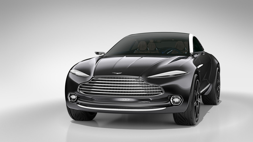 New Aston Martin SUV to be company's best-selling model