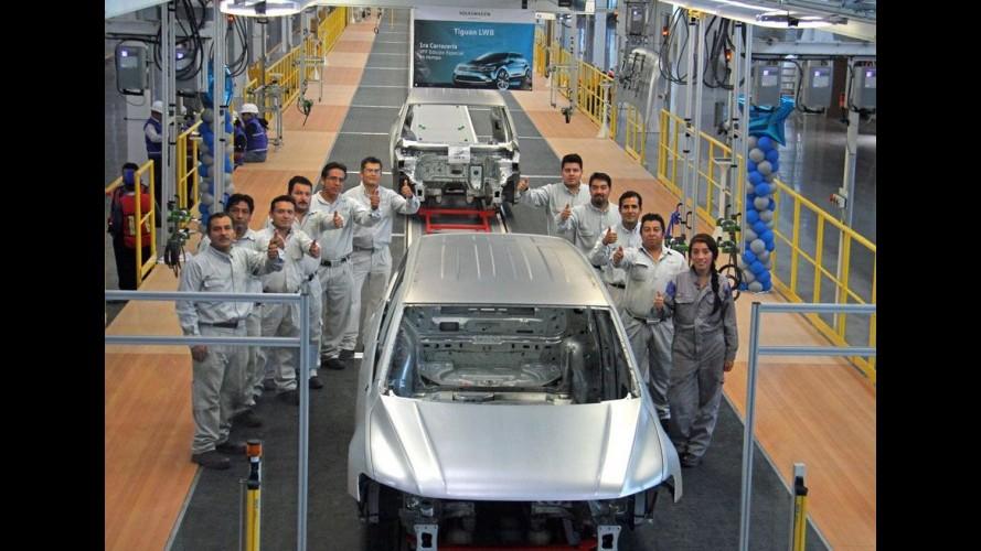 Volkswagen inicia pré-produção do novo Tiguan de sete lugares