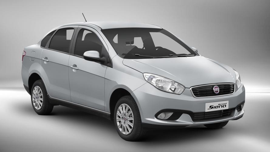 Fiat Grand Siena fica mais caro e parte de R$ 47.690