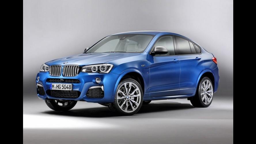 Vazou: BMW X4 M40i de 360 cv aparece em primeiras fotos oficiais