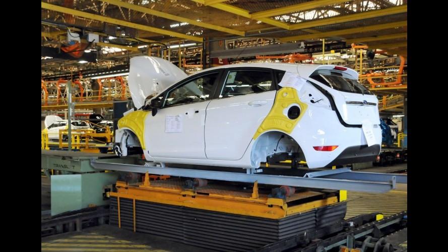Ford New Fiesta chega a 200 mil unidades produzidas no Brasil