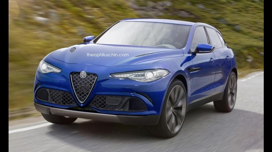 Inédito SUV da Alfa Romeo, Stelvio estreia em novembro no Salão de Los Angeles