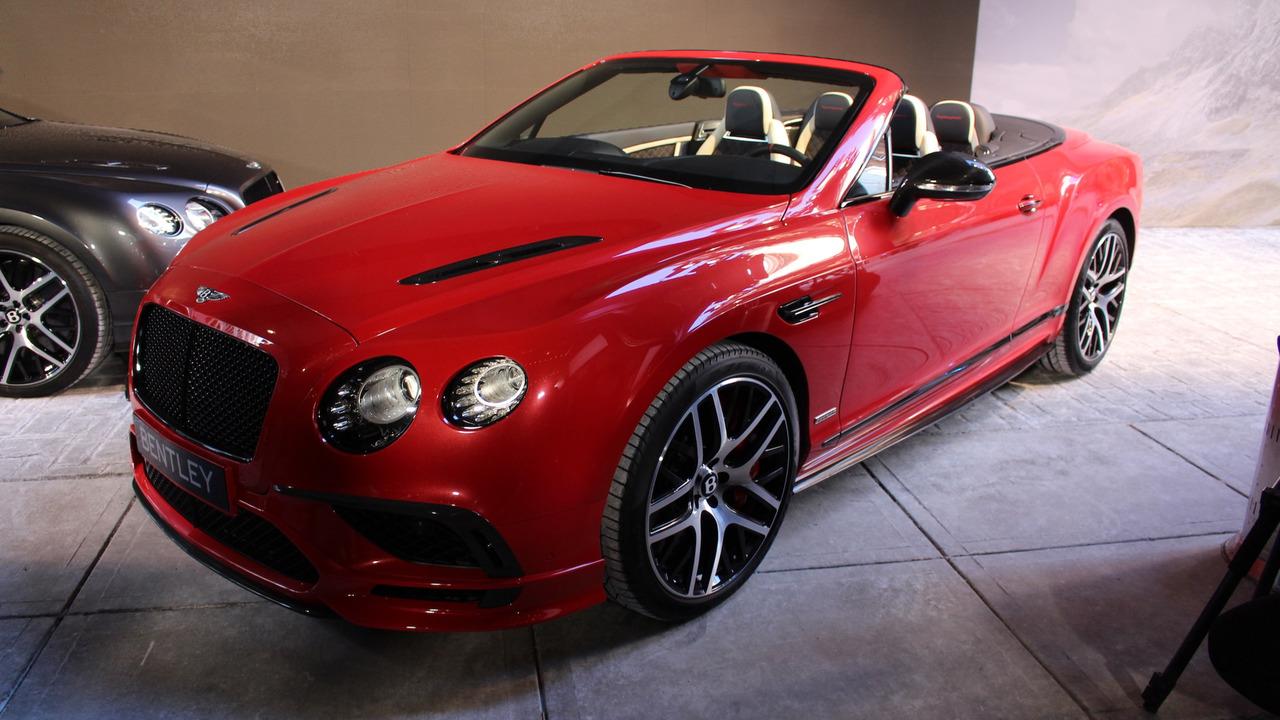 2017 Bentley Continental Supersports: Detroit 2017