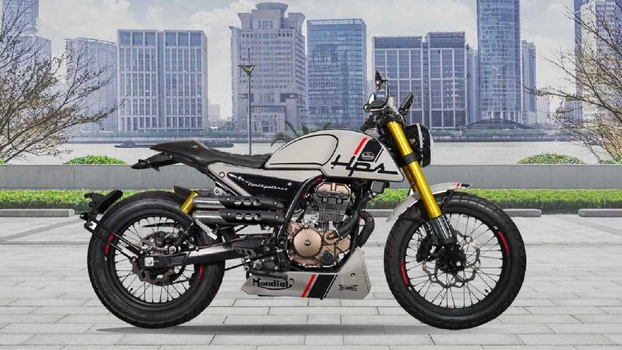 2021 F.B. Mondial HPS 125 Rolled Out In Europe