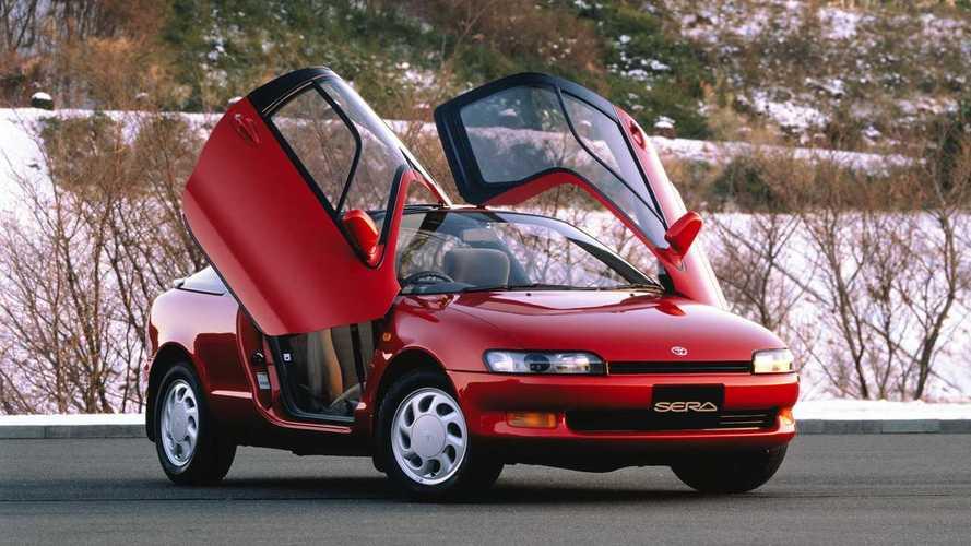 Toyota Sera, la compatta con le ali che non è rimasta una concept