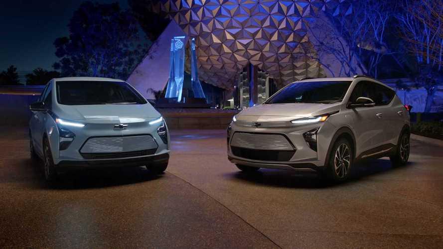 Chevrolet Bolt EV Facelift und neue SUV-Version Bolt EUV