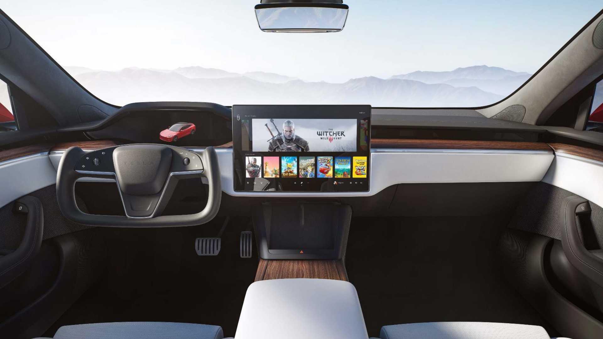 Tesla Model S Interior 2020
