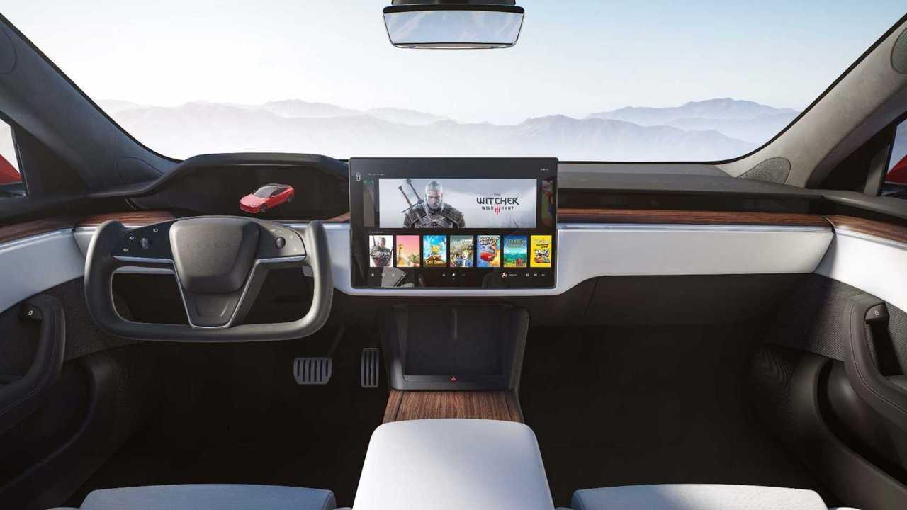 Tesla Car Interior 2020