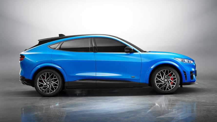 2021 Ford Mustang Mach-E (China spec)