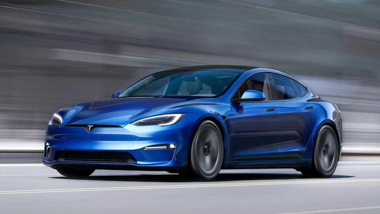 The 2021 Tesla Model S Plaid