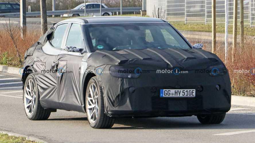 Genesis GV60e: Äquivalent zum Hyundai Ioniq 5 ab August 2021?