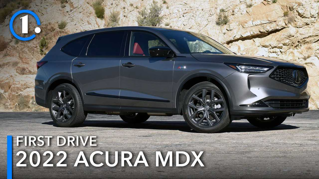 2022 Acura MDX A-Spec First Drive