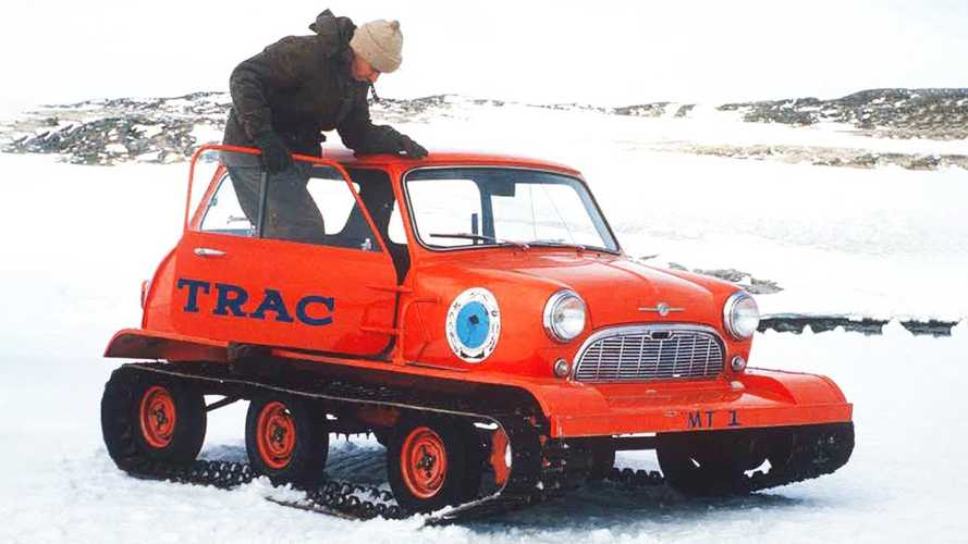 Mini-Trac is the cutest Antarctica service vehicle you never heard of