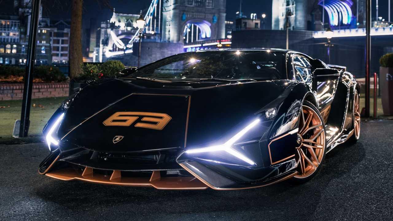 Lamborghini Sian in London
