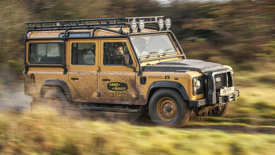 Check Out Land Rover Defender Works V8 Trophy