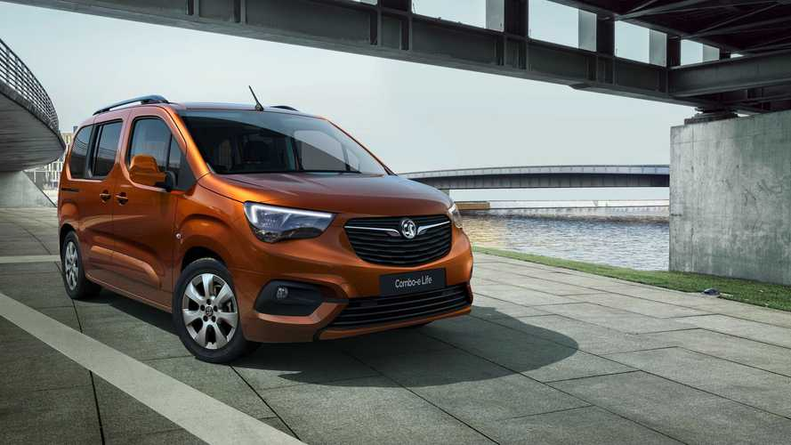 Vauxhall's van-based Combo Life MPV goes all-electric