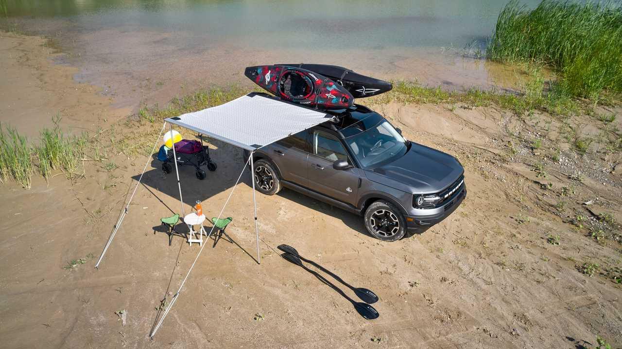 2021 Pacchetto di accessori per l'acqua Ford Bronco Sport