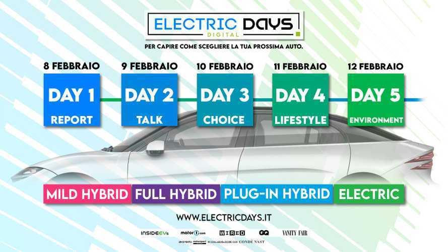 Electric Days Digital 2021, ecco il calendario completo degli eventi