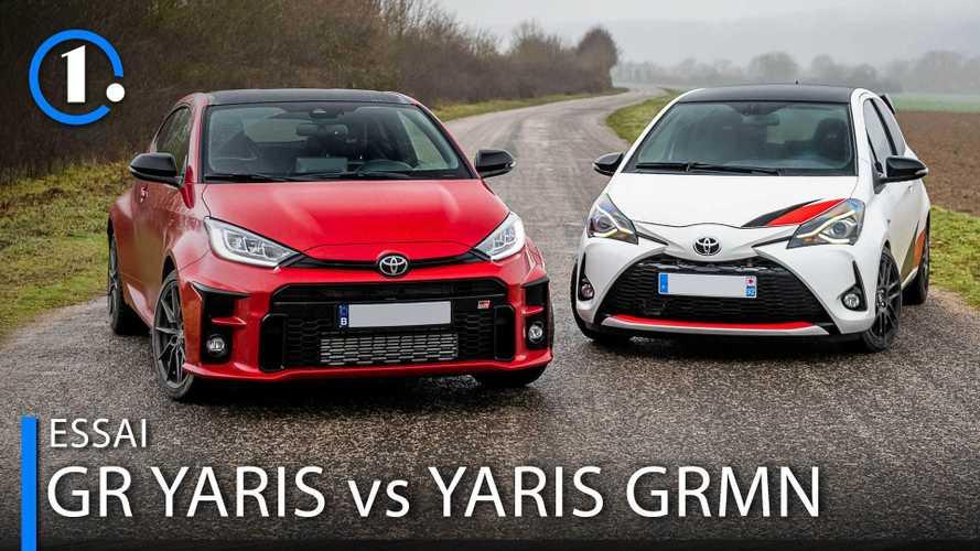 Toyota GR Yaris gegen Toyota Yaris GRMN im exklusiven Vergleich