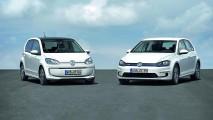 Golf e up! elétricos são atrações da Volkswagen para Frankfurt
