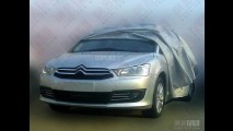 Novo Citroën C4 Pallas 2013 é flagrado na China