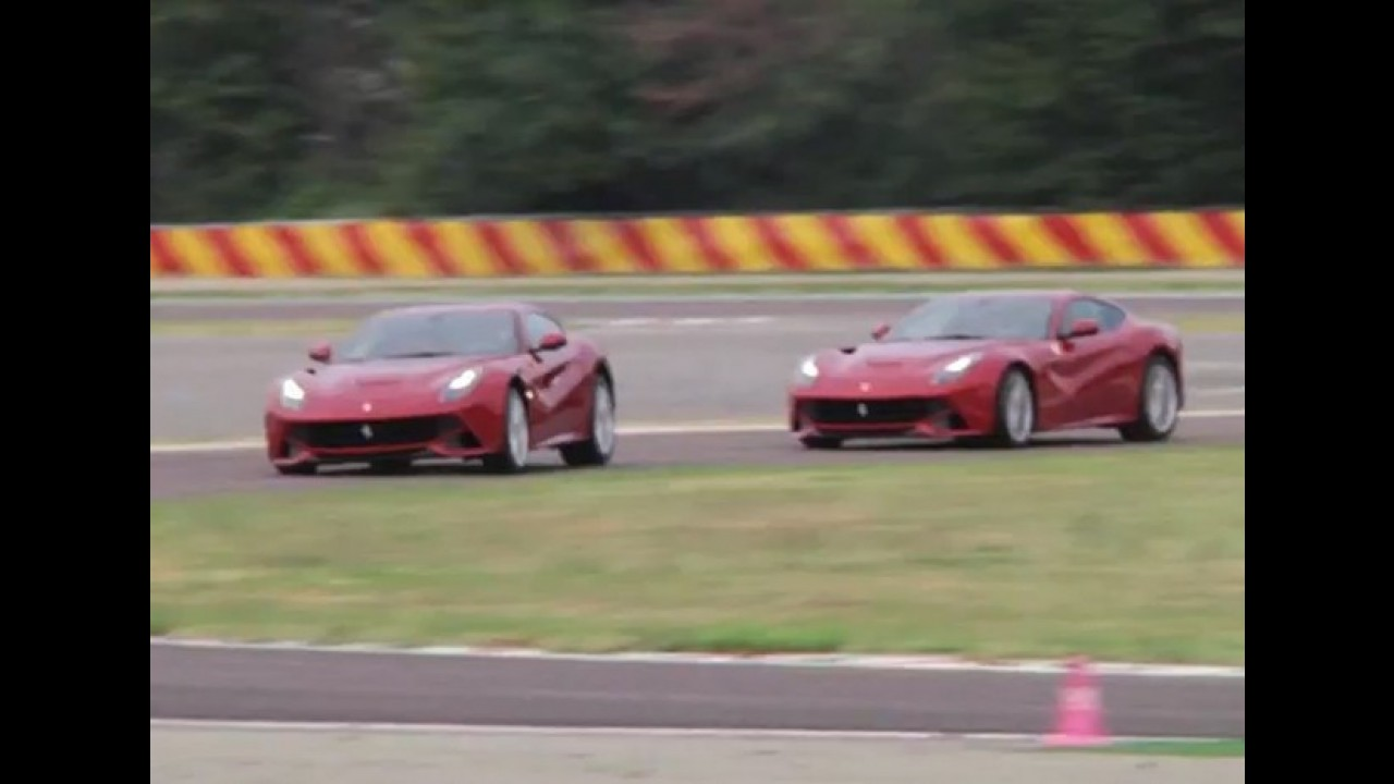 Video Massa E Alonso Testam A Ferrari F12berlinetta