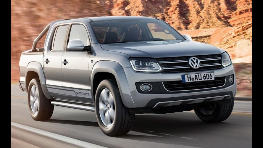 VW Amarok Ultimate é versão de topo com faróis de LED e novas rodas