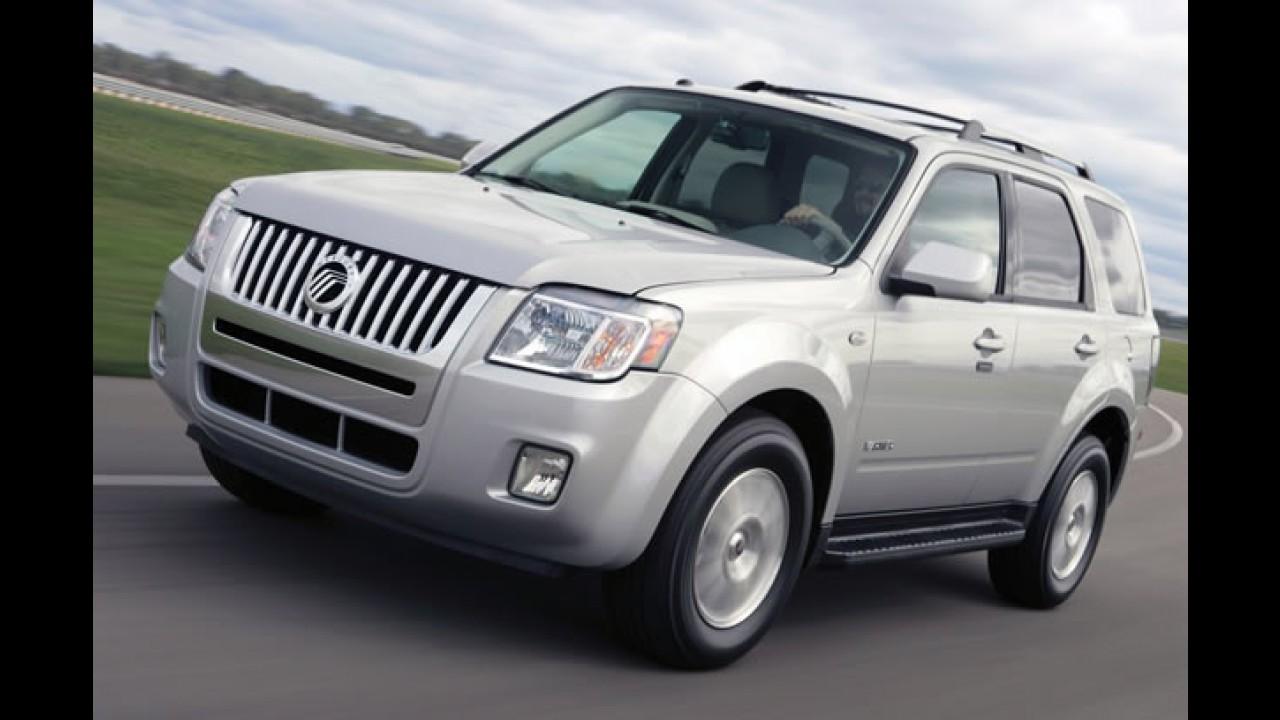 Problema: Modelos da Ford e da Mercury sob investigação nos EUA por quebra de vidros