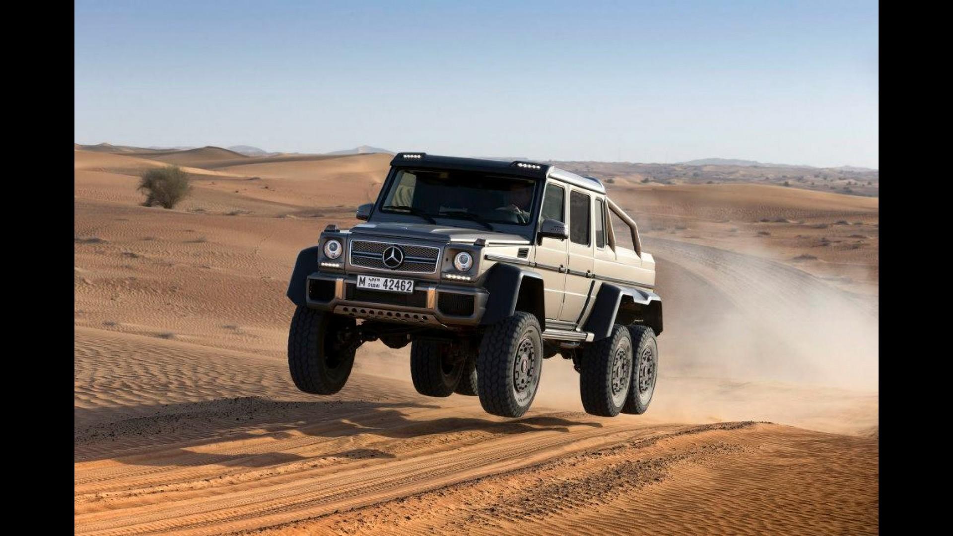 Mercedes Benz Confirma Producao Do Monstruoso G63 Amg 6x6