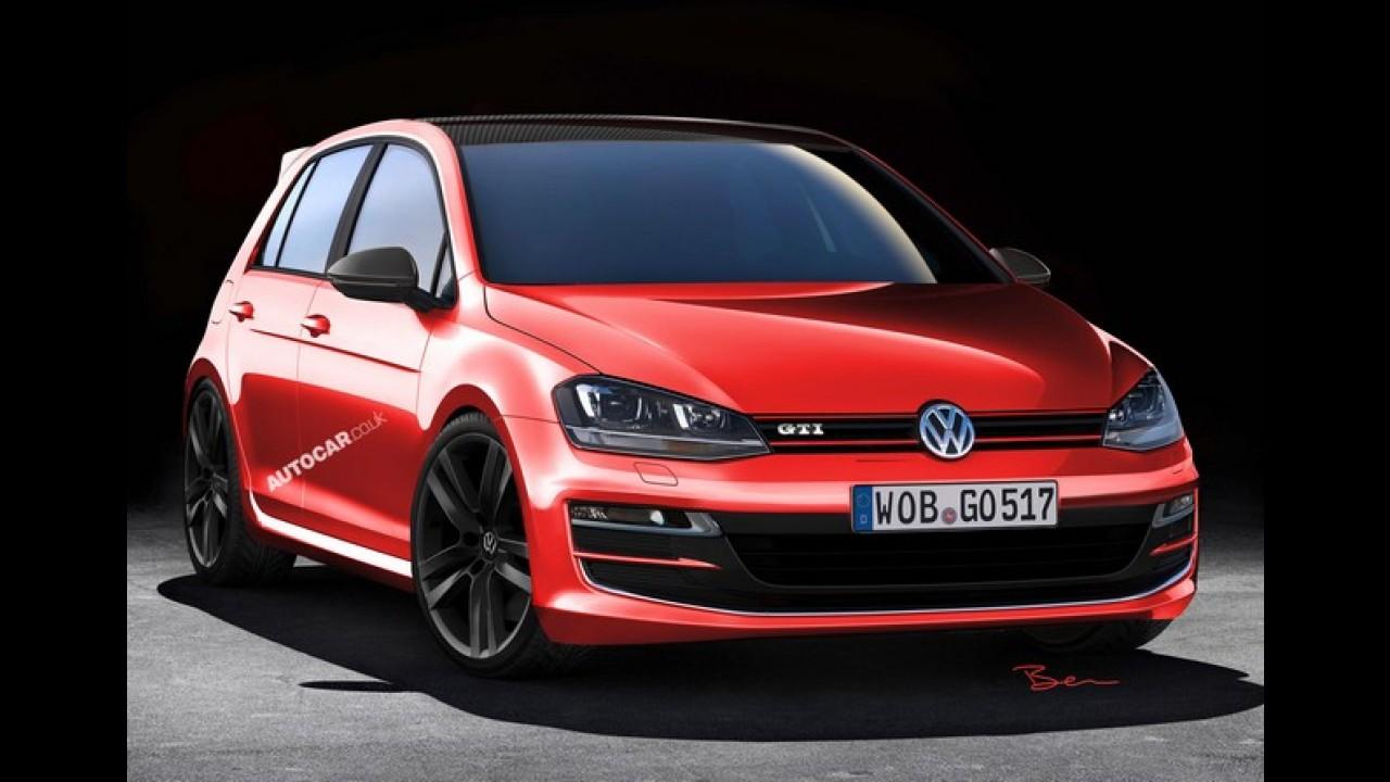 Volkswagen Golf 7 GTi terá uma versão mais leve e potente