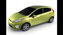 México: Linha Ford Fiesta 2013 chega com desconto - Preço inicial equivale a R$ 27.628
