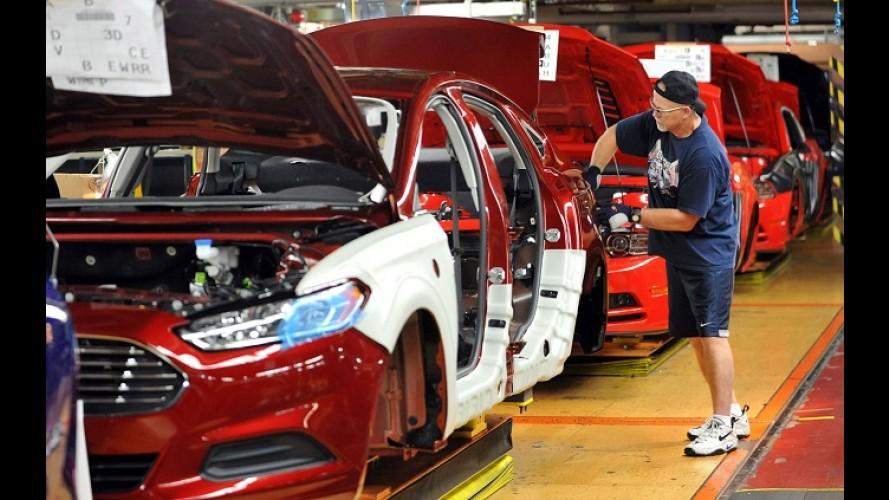 Efeito crise: Ford reduzirá produção na América do Norte após cinco anos