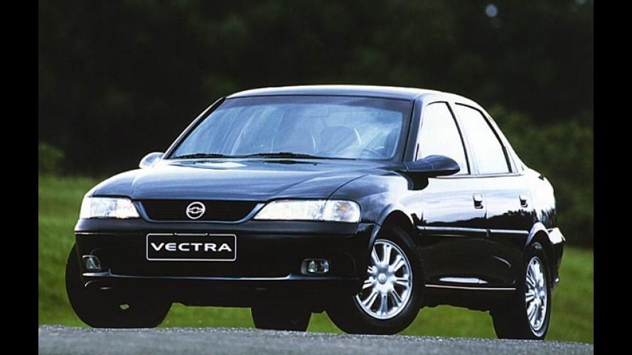 Justiça brasileira processa GM por omissão de recall do Vectra em 1998