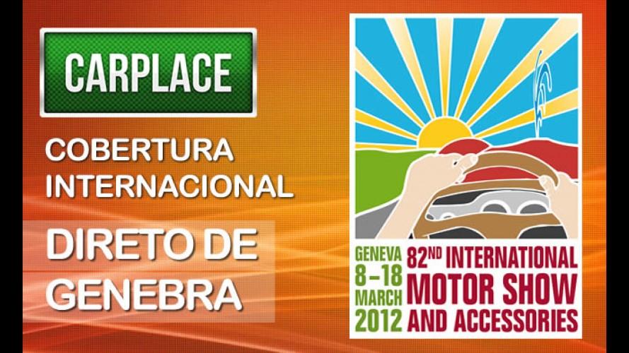 Internacional: CARPLACE está na Suíça para cobertura do Salão de Genebra 2012 ao vivo