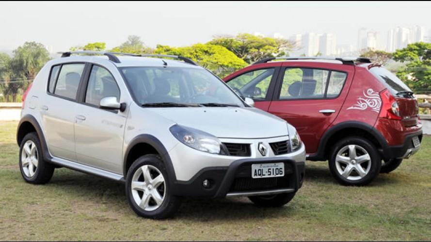 Renault Sandero fabricado no Brasil chega ao México com preço inicial equivalente a R$ 16.800