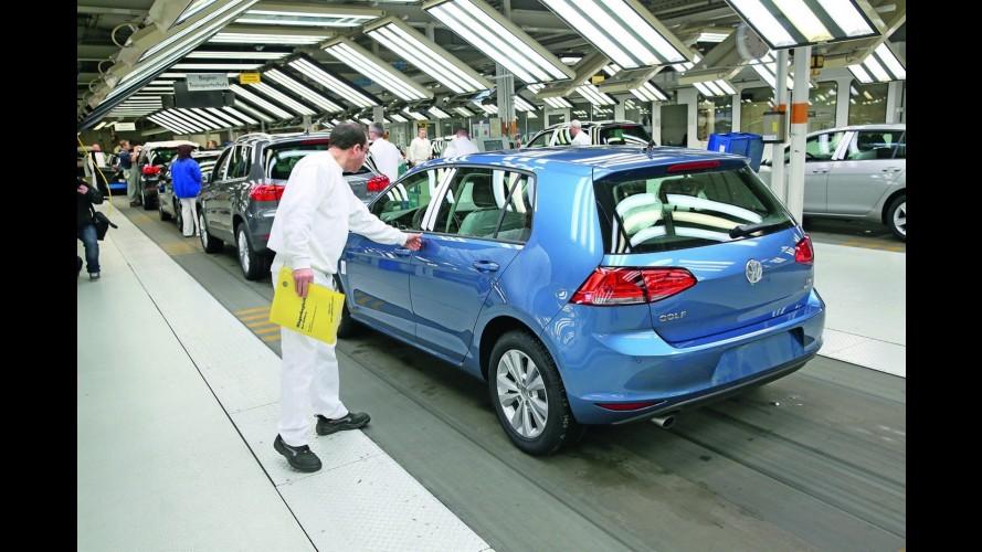 VW planeja aumentar produção do Golf para suprir alta demanda