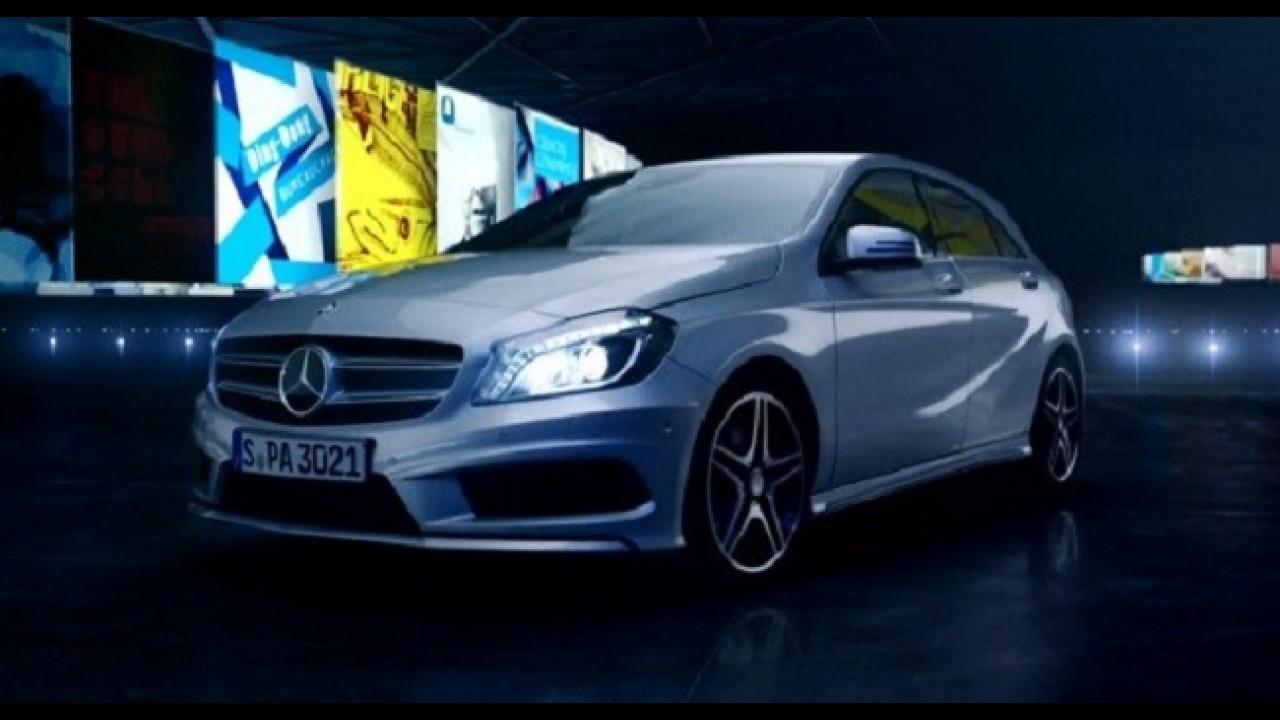 VÍDEO: Mercedes divulga comercial do novo Classe A para a TV