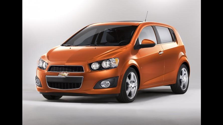 Chevrolet Sonic passa por recall no Canadá