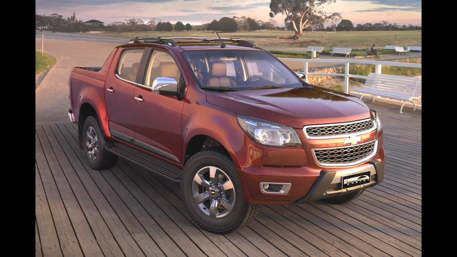 Salão SP: Chevrolet S10 entra na grife High Country