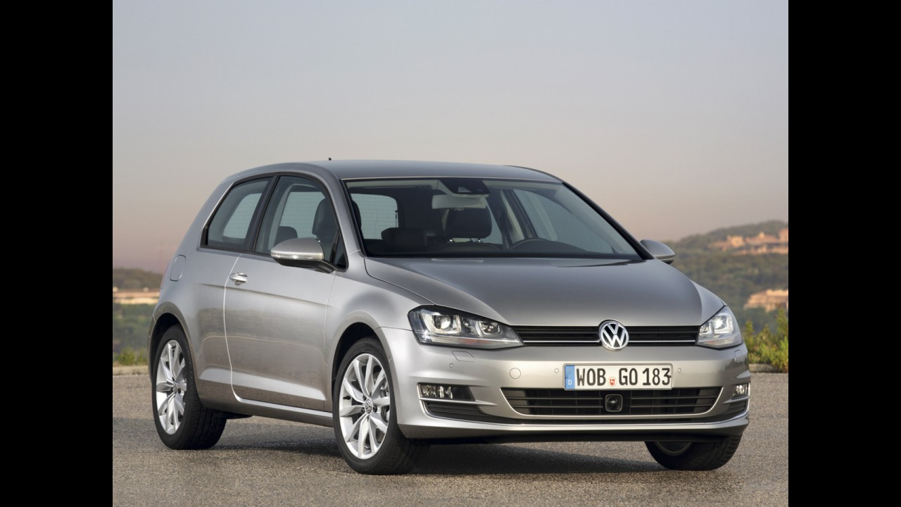 Volkswagen divulga novas imagens da nova geração do Golf em versão de duas portas
