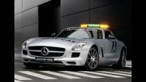 Mercedes-Benz SLS AMG Gullwing é o novo safety car da Fórmula 1 - Veja fotos